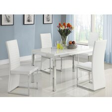 <strong>Woodbridge Home Designs</strong> Clarice 5 Piece Dining Set