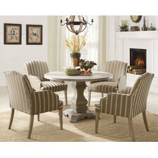 <strong>Woodbridge Home Designs</strong> Euro Casual 5 Piece Dining Set