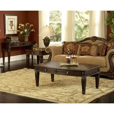 <strong>Woodbridge Home Designs</strong> Palace Coffee Table Set