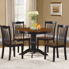<strong>Woodbridge Home Designs</strong> Andover 5 Piece Counter Height Dining Set