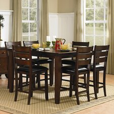 Ameillia 7 Piece Counter Height Dining Set