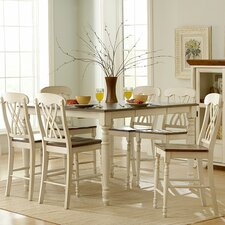 <strong>Woodbridge Home Designs</strong> Ohana 7 Piece Counter Height Dining Set