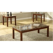 Achillea 3 Piece Coffee Table Set