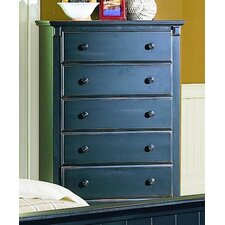 <strong>Woodbridge Home Designs</strong> 875 Series 5 Drawer Chest