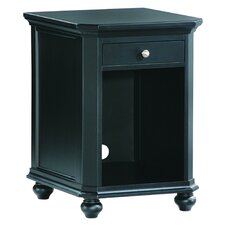 8891 Series One Drawer CPU Cabinet in Black