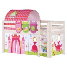 Classic Bunk Bed with Princess Theme