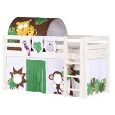 FLEXA Classic Midsleeper Bed with Jungle Theme