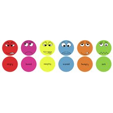 English Emotions Kids Cushion Pack 2 (Set of 6)