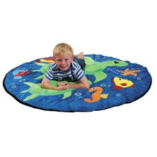 Ocean Life Turtles Kids Rug