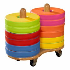 Donut Kids Seat Cart (Set of 12)