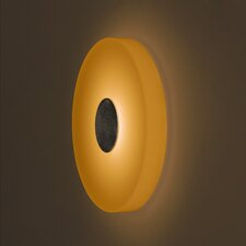 <strong>Bruck Lighting</strong> Ledra Ice 1 Round Light Wall Sconce