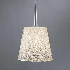 Bling I 1 Light Monopoint Pendant with Canopy
