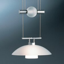 <strong>Bruck Lighting</strong> Jasmine 1 Light Move Down Large Pendant