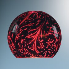 "6"" Zon Glass Round Pendant Shade"