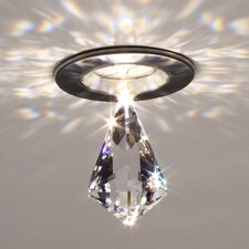 Diamond Kite Crystal in Clear