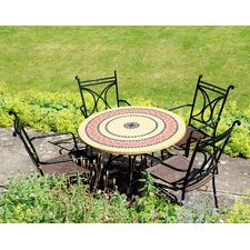Mataro Round 4 Seater Dining Set
