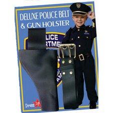 Polizeigürtel und Pistolenhalfter