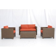 Salinas 4 Piece Deep Seating Group with Cushions