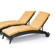 Fiji Chaise Lounge Set with Cushion