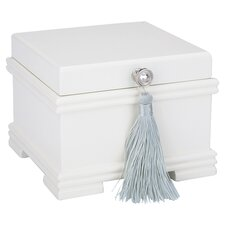 <strong>Reed & Barton</strong> Emma Jewel Chest in White