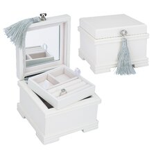 Emma Jewel Chest in White