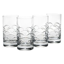 13 Oz. Cove Highball Glass (Set of 4)