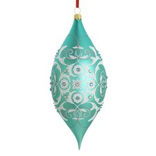 Intaglio Blown Glass Ornament