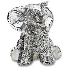 "<strong>Reed & Barton</strong> Children's Giftware 3.5"" Elephant Musical"