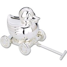 "<strong>Reed & Barton</strong> Children's Giftware 3.75"" x 4.5"" Duck Coin Bank"