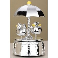"<strong>Reed & Barton</strong> Children's Giftware 7.75"" Something Duckie Carousel"