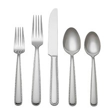 Stitch 45 Piece Dinner Flatware Set