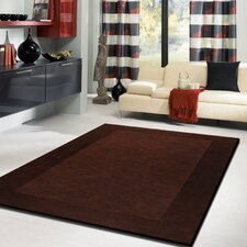<strong>Rug Factory Plus</strong> Amore Shag Solid Brown Rug