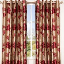 Wisteria Lined Eyelet Curtains