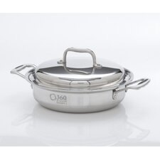 <strong>360 Cookware</strong> 2.3-Qt. Stainless Steel Round Casserole Pot