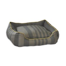 Tonal Stripe Couch Dog Bed