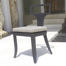 <strong>Dann Foley</strong> Rodeo Stacking Dining Side Chair with Cushion