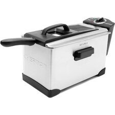 3.5 Liter Deep Fryer with Frying Basket and Oil Pan