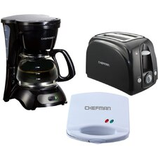 3-in-1 Complete Kitchen Coffee Maker Set