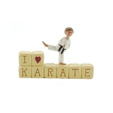 """I Love Karate"" Block"