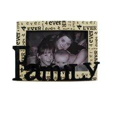 """Decorative 4"""" H x 6"""" W """"Family"""" 4Ever Frame"""