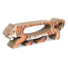 Tiger Cardboard Cat Scratching Board