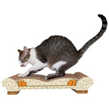 Love Seat Recycled Paper Cat Scratching Board