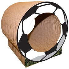 Small Soccer Ball Recycled Paper Scratching Post