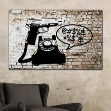 "<strong>Th-Ink Art</strong> ""Last Call"" Gallery Wrapped Canvas Artwork"