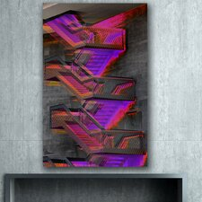 "<strong>Th-Ink Art</strong> ""Stepping Out"" Gallery Wrapped Canvas Artwork"