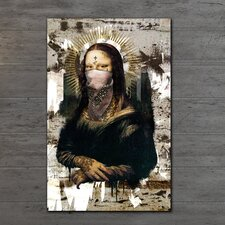 """Urban Mona Lisa"" Gallery Wrapped Canvas Artwork"