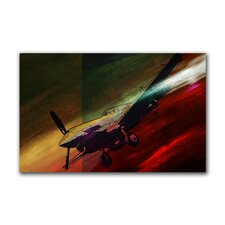 """On Flight"" Gallery Wrapped Canvas Artwork"