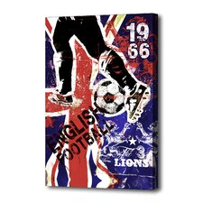 """England 66"" Graphic Art on Canvas"