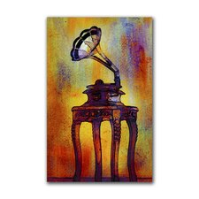 """Phonograph"" Gallery Wrapped Canvas Artwork"