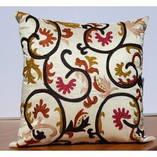 Embroidered Accent Pillow